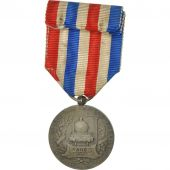 France, Travail, Chemins de Fer, Medal, 1918, Very Good Quality, Roty, Silver