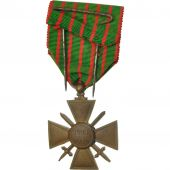 France, Croix de Guerre, Medal, 1914-1918, Very Good Quality, Bronze, 37