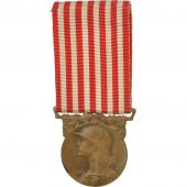 France, Grande Guerre, Medal, 1914-1918, Very Good Quality, Morlon, Bronze, 33