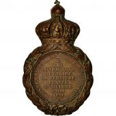 France, Médaille de Saint Hélène, Medal, 1857, Good Quality, Bronze, 32