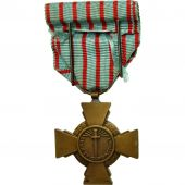 France, Croix du Combattant, Medal, 1914-1918, Very Good Quality, Bronze, 36