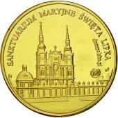 Poland, Medal, Sanctuaire Maryjne, Swieta Lipka, MS(65-70), Copper Gilt