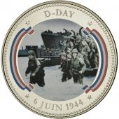 France, Médaille, Seconde Guerre Mondiale, D-Day, FDC, Copper-nickel