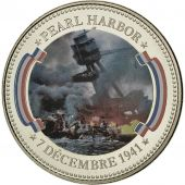 France, Médaille, Seconde Guerre Mondiale, Pearl Harbor, FDC, Copper-nickel