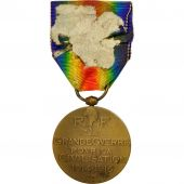 France, La Grande Guerre pour la Civilisation, Medal, 1914-1916, Very Good