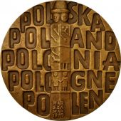 Poland, Medal, Varsovie, 1970, MS(64), Bronze