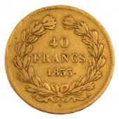 Louis-Philippe I, 40 Francs or Laureate Head