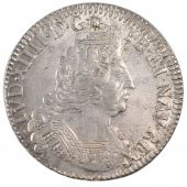 LOUIS XIV, 1/2Ecu with Bar