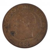 Second Empire, 2 Centimes naked head