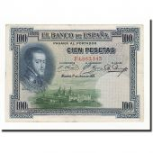Espagne, 100 Pesetas, 1925, KM:69a, 1925-07-01, TB
