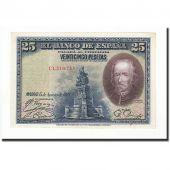 Espagne, 25 Pesetas, 1928, KM:74b, 1928-08-15, NEUF