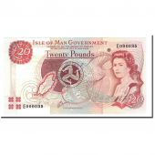 Isle of Man, 20 Pounds, Undated (2000), KM:45a, NEUF