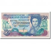 Falkland Islands, 50 Pounds, 1990, 1990-07-01, KM:16a, UNC(65-70)