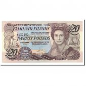 Falkland Islands, 20 Pounds, 1984, 1984-10-01, KM:15a, UNC(65-70)
