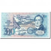 Guernsey, 10 Pounds, Undated (1991-95), KM:54a, NEUF