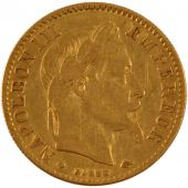 Second Empire, 10 Francs or Napoléon III laureate head
