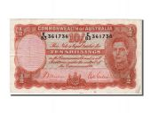 Australie, 10 Shillings type Georges VI