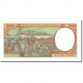 Central African States, 2000 Francs, 1998, KM:203Ee, UNC(65-70)