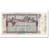 France, 5000 Francs, 5 000 F 1918 Flameng, 1918, 1918-01-28, VF(30-35)