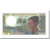 Billet, Comoros, 1000 Francs, UNDATED (1984), KM:11b, NEUF