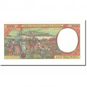 Banknote, Central African States, 2000 Francs, 1994, KM:403Lb, UNC(65-70)