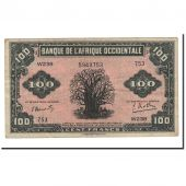 Banknote, French West Africa, 100 Francs, 1942, 1942-12-14, KM:31a, EF(40-45)