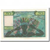 Banknote, West African States, 50 Francs, Undated (1958), KM:1, UNC(63)
