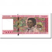 Banknote, Madagascar, 25,000 Francs = 5000 Ariary, 1998, Undated, KM:82, UNC(63)