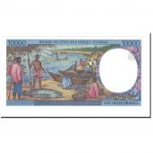 Banknote, Central African States, 10,000 Francs, 1995, KM:405Lb, UNC(63)