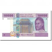 Banknote, Central African States, 10,000 Francs, 2002, KM:210U, UNC(65-70)