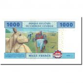 Banknote, Central African States, 1000 Francs, 2002, KM:207U, UNC(65-70)