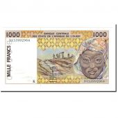 Banknote, West African States, 1000 Francs, 1991, KM:711Ka, UNC(64)