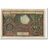 Billet, Cameroun, 5000 Francs, Undated, KM:9, B+