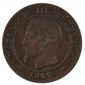 Second Empire, 2 Centimes Napoléon III tête nue