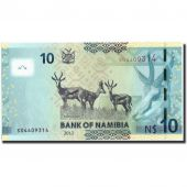 Namibia, 10 Namibia dollars, 2012, KM:11a, 2012, UNC(65-70)