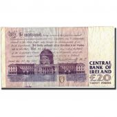 Ireland - Republic, 20 Pounds, 1993, 1996-06-04, KM:77a, TB