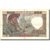 Billet, France, 50 Francs, 1941, 1941-03-13, TTB, Fayette:19.7, KM:93