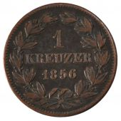 Germany, Baden, Friedrich I, 1 Kreuzer