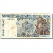 West African States, 5000 Francs, 1995, 1995, KM:713Kd, B