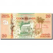 Cook Islands, 20 Dollars, KM:9a, Undated (1992), UNC(63)