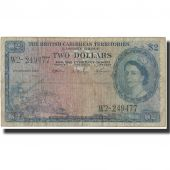 Billet, British Caribbean Territories, 2 Dollars, 1963, 1963-01-02, KM:8c, TB