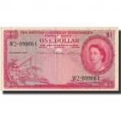 Billet, British Caribbean Territories, 1 Dollar, 1957, 1957-01-02, KM:7b, TTB