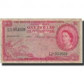 Billet, British Caribbean Territories, 1 Dollar, 1959, 1959-01-02, KM:7c, B+