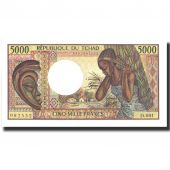 Billet, Chad, 5000 Francs, undated (1984-91), KM:11, NEUF