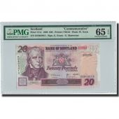Billet, Scotland, 20 Pounds, 1999, 1999-03-22, KM:121c, Gradée, PMG