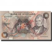 Billet, Scotland, 10 Pounds, 1974, 1974-05-01, Specimen, KM:1135, SPL