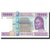 Banknote, Central African States, 10,000 Francs, 2002, 2002, KM:410A, UNC(65-70)
