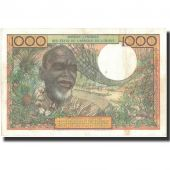 Banknote, West African States, 1000 Francs, KM:103Am, AU(55-58)