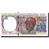 Banknote, Central African States, 5000 Francs, 1994, 1994, KM:204Ea, UNC(65-70)