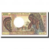 Banknote, Chad, 5000 Francs, undated (1984-91), Undated, KM:11, UNC(64)
